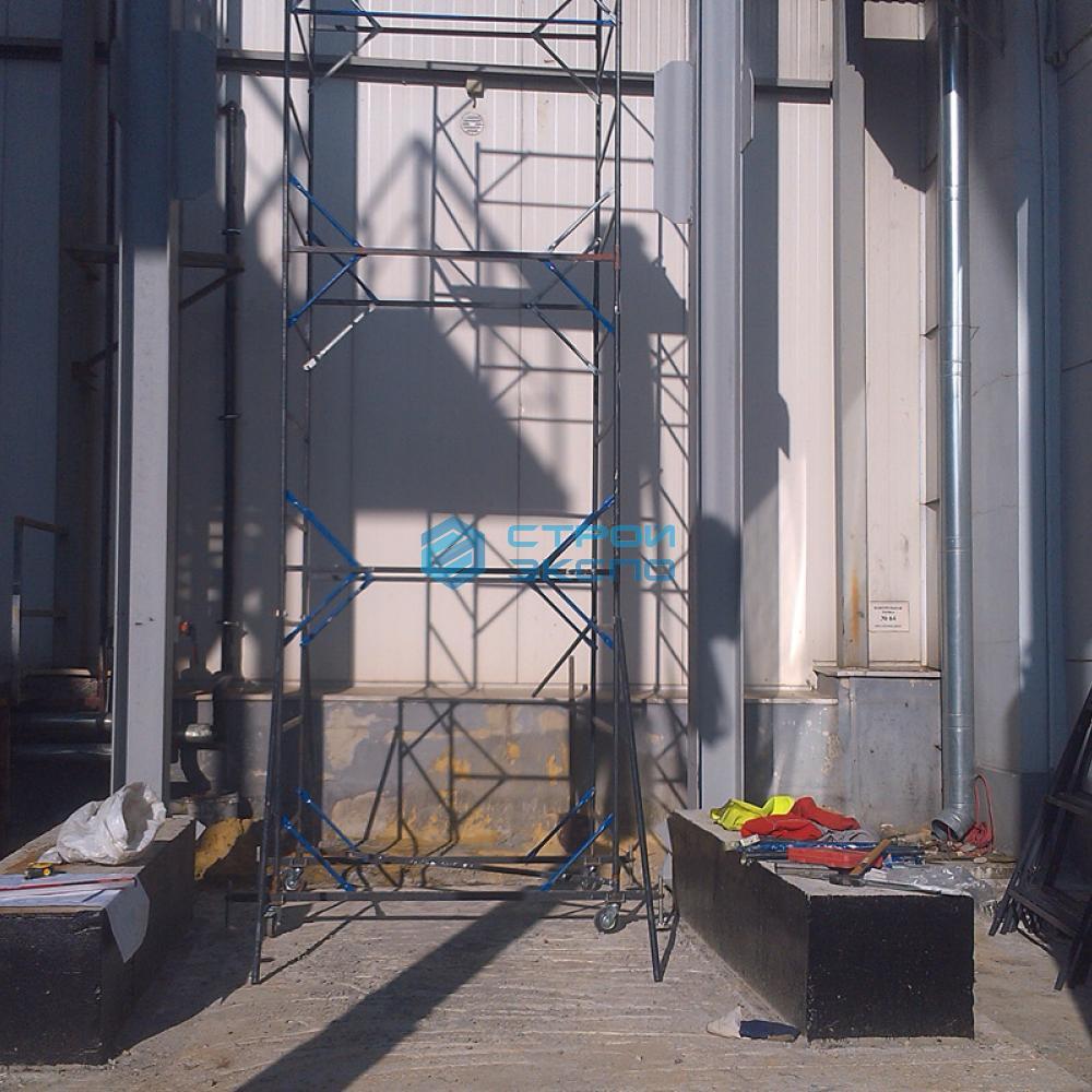 Монтаж металлоконструкций под технологическое оборудование