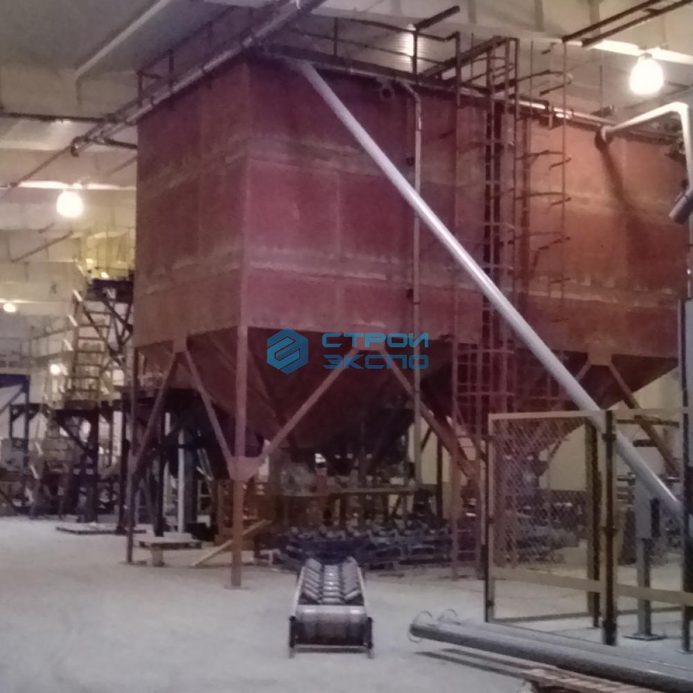 Изготовление и монтаж бункеров, технологических площадок