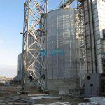 Изготовление зернохранилища из металлоконструкций