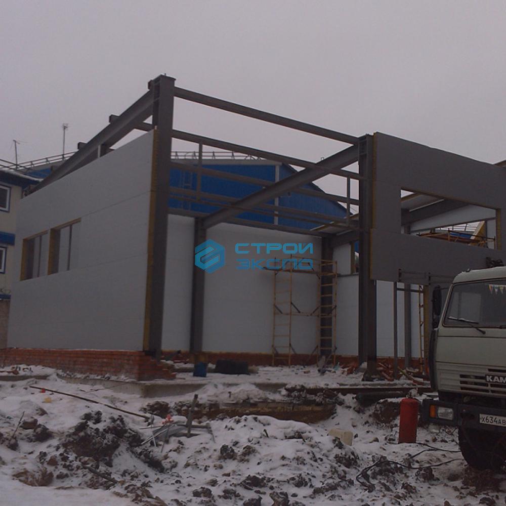 Строительство здания котельной